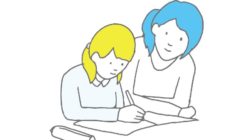 親子で英語を学習